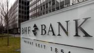 Die Zentrale der BHF-Bank steht noch wie vor in Frankfurt.