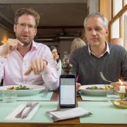 Hungrig auf mehr: Florian Gottschaller (links) und Ralph Meyer