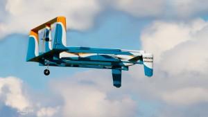 Amazon zeigt neue Lieferdrohne