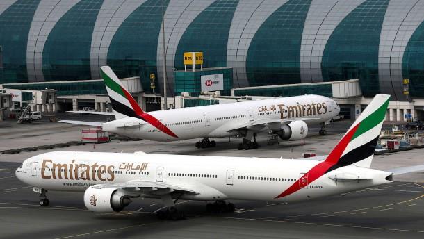 Emirates stellt Passagierflüge vorerst ein