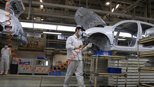 Chinesischer Autoabsatz legt im Mai zweistellig zu