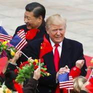 Da verstanden sich beide noch besser: Donald Trump und Xi Jinping im November 2017 in Peking.