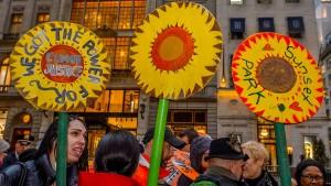 Klage gegen Trumps Klima-Dekret eingereicht