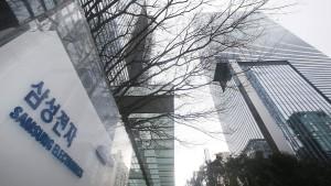 Samsung-Aktie trotz Krise auf Rekordhoch