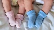 Immer mehr Babys haben eine Mutter, die Mitte 30 oder älter ist.