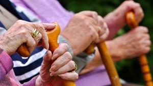 Jede zweite Rente ist kleiner als 800 Euro im Monat