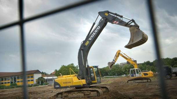 Der Bau des Fachmarktzentrums am Chinonplatz beginnt