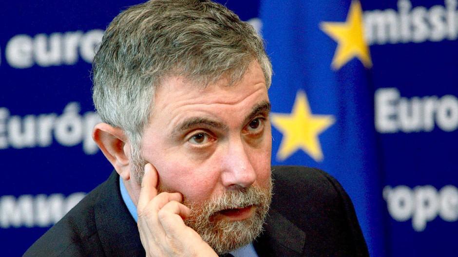 In Brüssel am Sitz der EU-Kommission: Paul Krugman