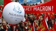 Frankreich startet Liberalisierungsoffensive