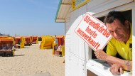 Sommer in Cuxhaven: Boom - auch am Strand