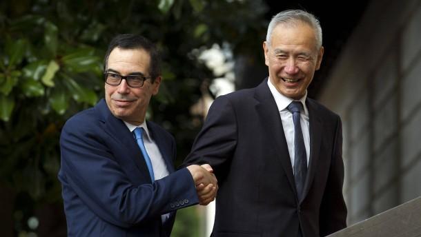 Amerika und China planen ständigen Dialog zu Wirtschaftskonflikten