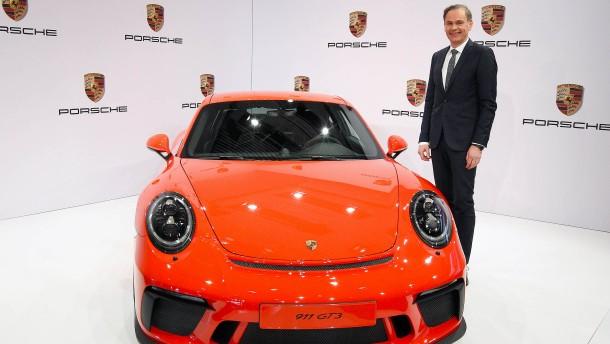 Porsche drosselt das Tempo