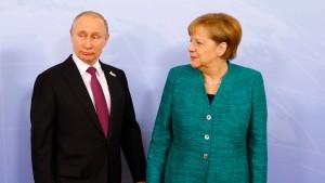 Schärfere Russland-Sanktionen im Gespräch