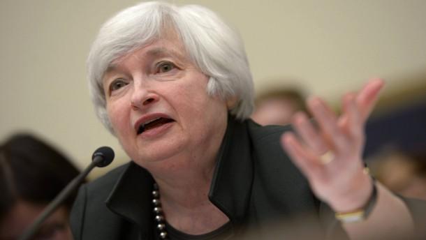 Notenbankchefin vermeidet klare Bekenntnisse in Jackson Hole