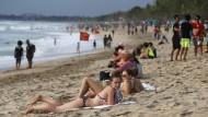Ein Jahr Haft für Australier wegen Joint an Strand von Bali