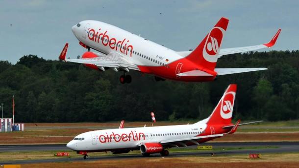 """Air Berlin informiert ueber Sparprogramm """"Turbine 2013"""""""