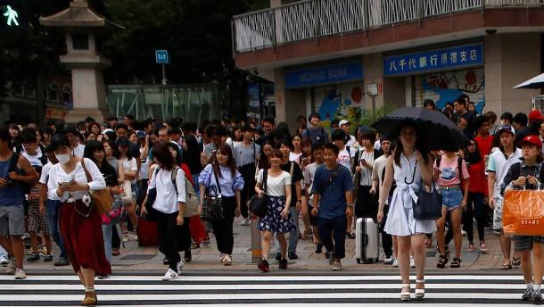 Von Japans Wachstum kann die Welt nur träumen