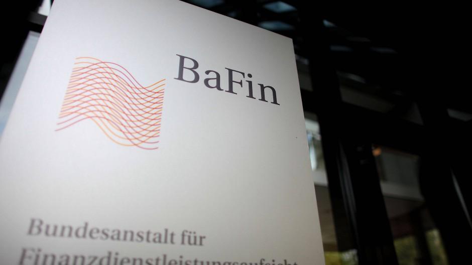 Eingang der Bundesanstalt für Finanzdienstleistungsaufsicht (Bafin) in Bonn