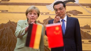 Merkels süß-saurer Besuch in China