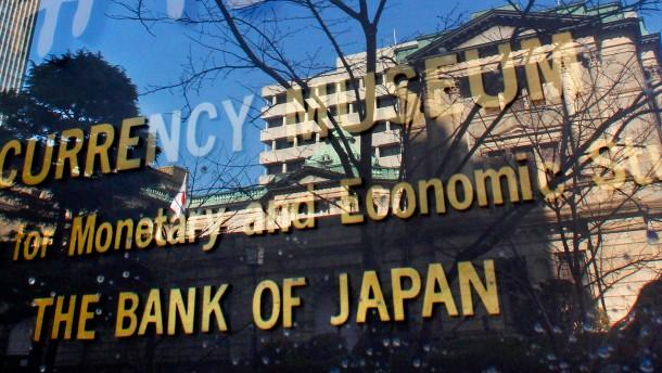 Bank von Japan macht Abe ein Weihnachtsgeschenk