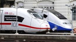 Werden ICE und TGV Geschwister?