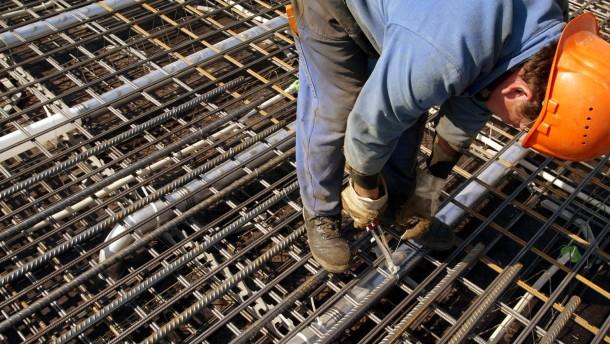 Bauindustrie verfehlt Umsatzziel deutlich