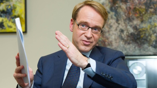 Bundesbank-Chef Weidmann sieht EZB eingeschränkt