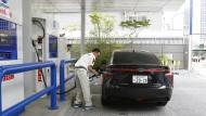 Wasserstoff soll in Japan zur Triebkraft werden.