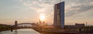 Die EZB sitzt im Frankfurter Ostend.