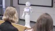 Der Hörsaal-Roboter