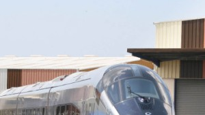 Alstom testet Hochgeschwindigkeitszug