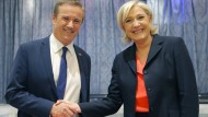 Le Pen weicht ihre Anti-Euro-Haltung auf