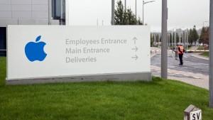 Apple zahlt in Irland Milliarden Euro zurück