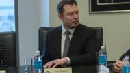 Elon Musk im Dezember im Trump Tower