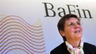 Bafin-Chefin: Nicht alle Banken dürften Stresstest bestehen