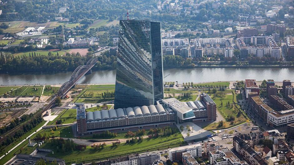 Die Europäische Zentralbank ist auch für die Aufsicht der großen Geldhäuser Europas zuständig.