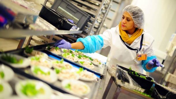 Streiks bei der Catering-Sparte der Lufthansa