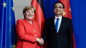 Li Keqiang wirbt – BASF kommt