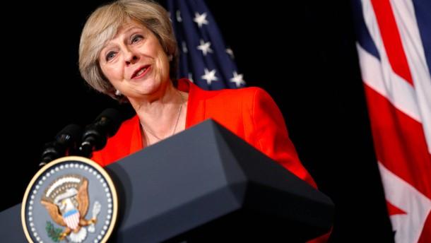 """Theresa May: """"Vor uns liegen schwierige Zeiten"""""""