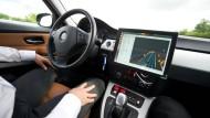 Auf der A81 testet Bosch schon Prototypen für autonomes Fahren.