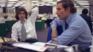 """Sie hatten sicher keine Probleme mit ihrem Autorenhonorar: Die """"Watergate""""-Enthüller Bob Woodward (rechts) und Carl Berstein von der """"Washington Post""""."""