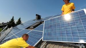 Die Solarindustrie in der Zwickmühle