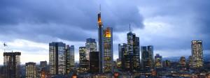 Frankfurter Skyline - kommen wegen des Brexits bald mehr Geldhäuser in die Mainmetropole?