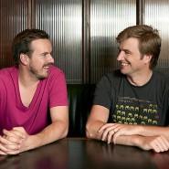 Die beiden Transferwise-Gründer Taavet Hinrikus (links) und Kristo Käärmann