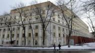 Hinter diesen Mauern sitzt Chodorkowskij, obwohl er zweimal gewarnt wurde
