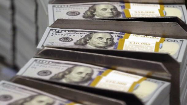 Verwaltetes Vermögen schrumpft