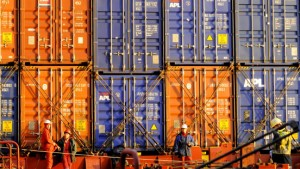 Deutscher Export wächst kräftig