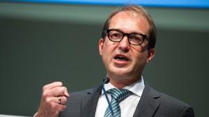 Dobrindt: Google fordert die soziale Marktwirtschaft heraus
