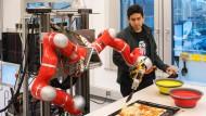 Die Roboter fangen mit dem Denken an