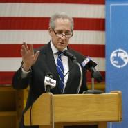 Bei TTIP gebe es Fortschritt, findet der amerikanische Handelsbeauftragte Michael Froman
